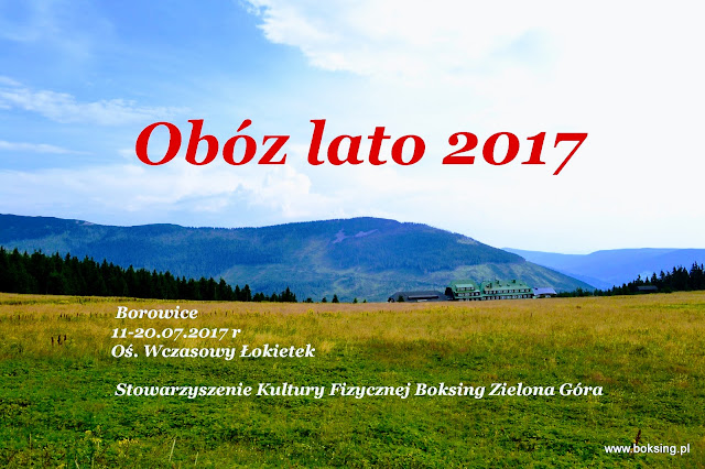 Obóz, sport, dokumenty, niepełnoletni, rodzice, kickboxing, SKF Boksing Zielona Góra