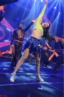 Sunny Leone Dancing on stage At Rogue Movie Audio Music Launch ~  017.JPG