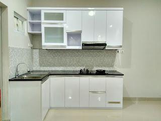 Kitchen set Minimalist Bulak Kapal, Bekasi Timur | Kitchen set minimalis dapur kecil