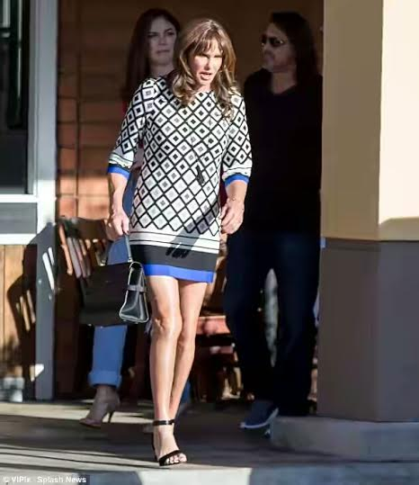 Caitlyn Jenner steps out in mini dress