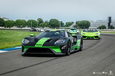 Kurt Busch Puts Ford GT Front and Center at Gold Rush Rally