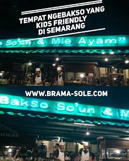 Tempat Ngebakso Di Semarang Yang Kids Friendly