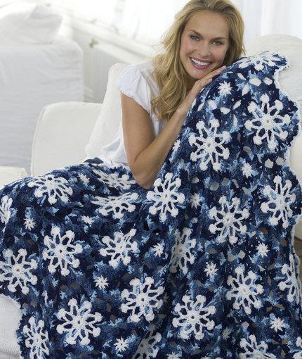 Fiber Flux Lovely Snowflakes 16 Free Crochet Patterns
