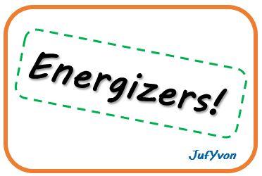 Ongebruikt 10 leuke energizers! MD-43