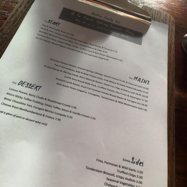 Bistro 46 Jesmond Newcastle review