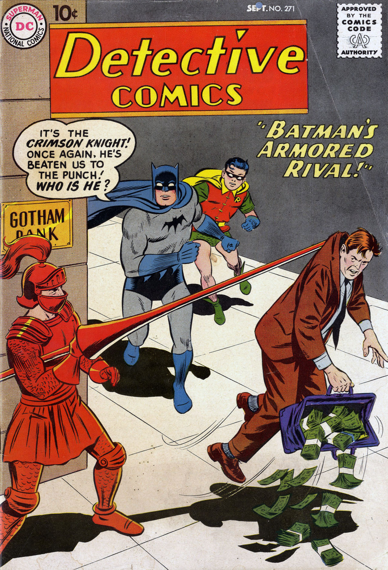 Read online Detective Comics (1937) comic -  Issue #271 - 1