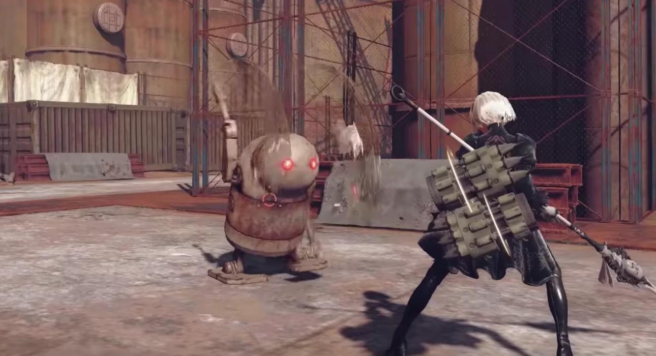 NieR Automata presenta armas, combos y sistema de combate en un nuevo vídeo