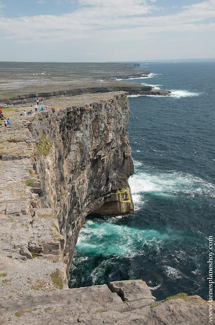 Acantilados Islas Aran Irlanda