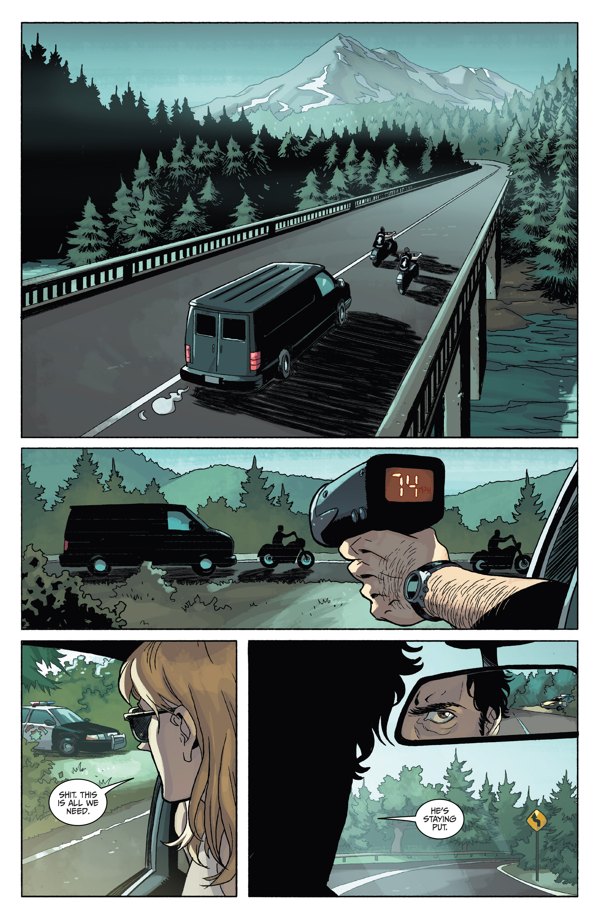 Read online Sons of Anarchy comic -  Issue #4 - 18