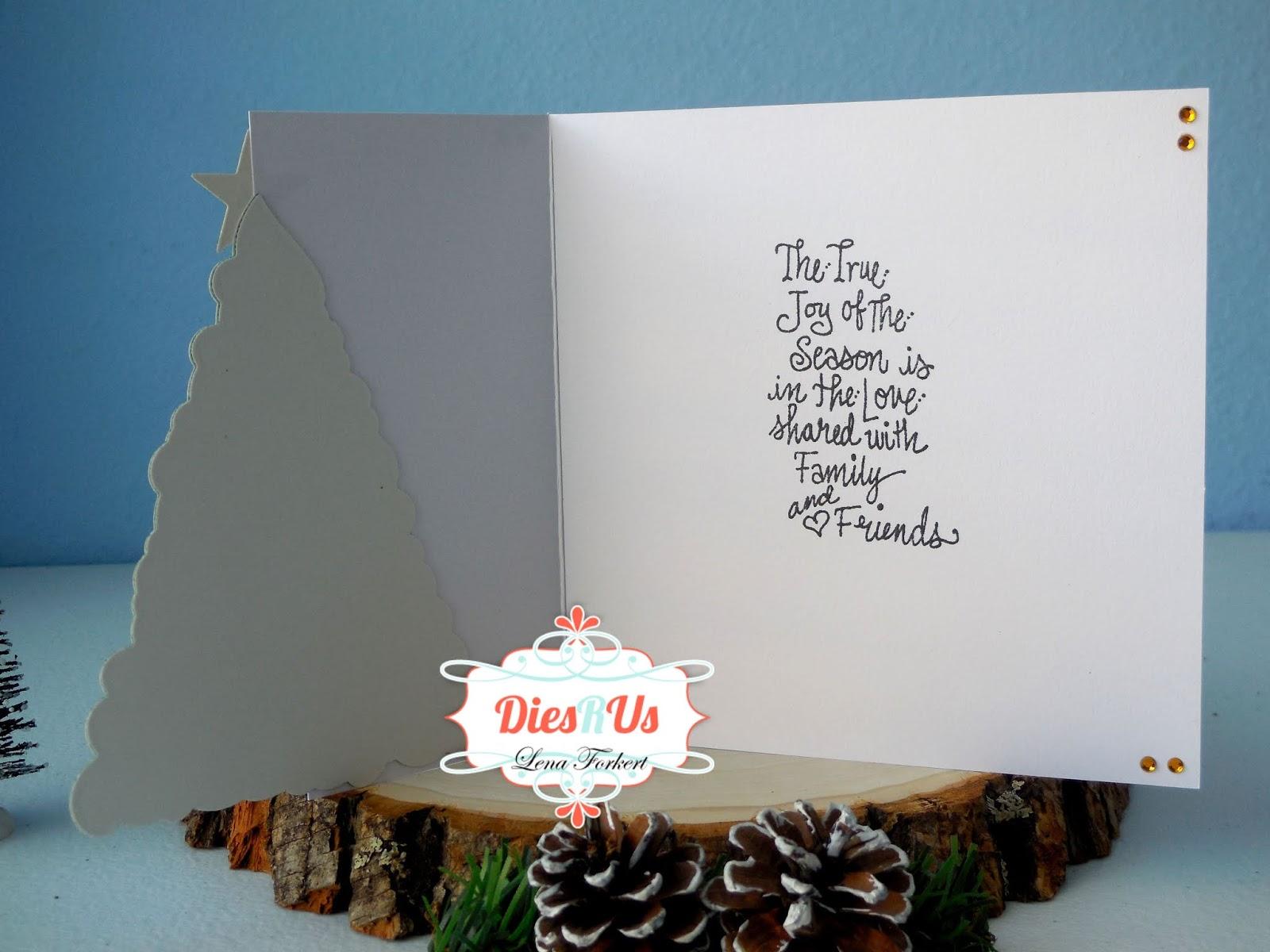 Dies R Us O Christmas Tree O Christmas Tree