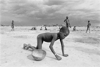 mengerikan tragis seram: kelaparan yang mengenaskan