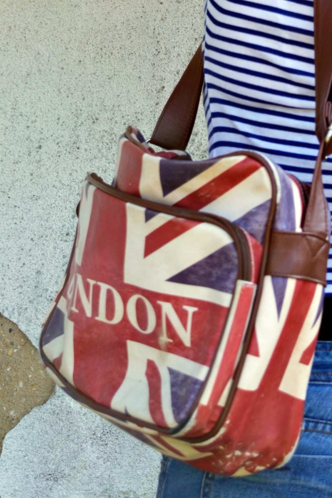 London Union Jack Messenger Bag