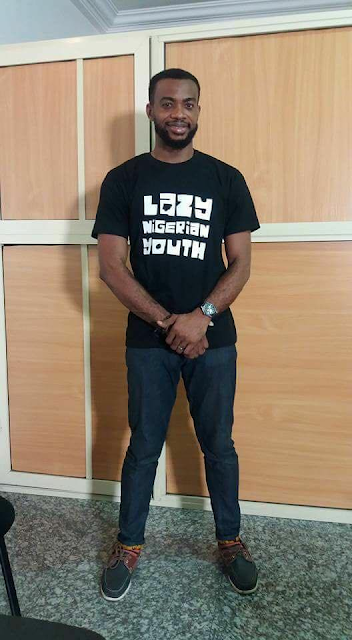 #LazyNigerianYouth T-Shirts And Cap Out