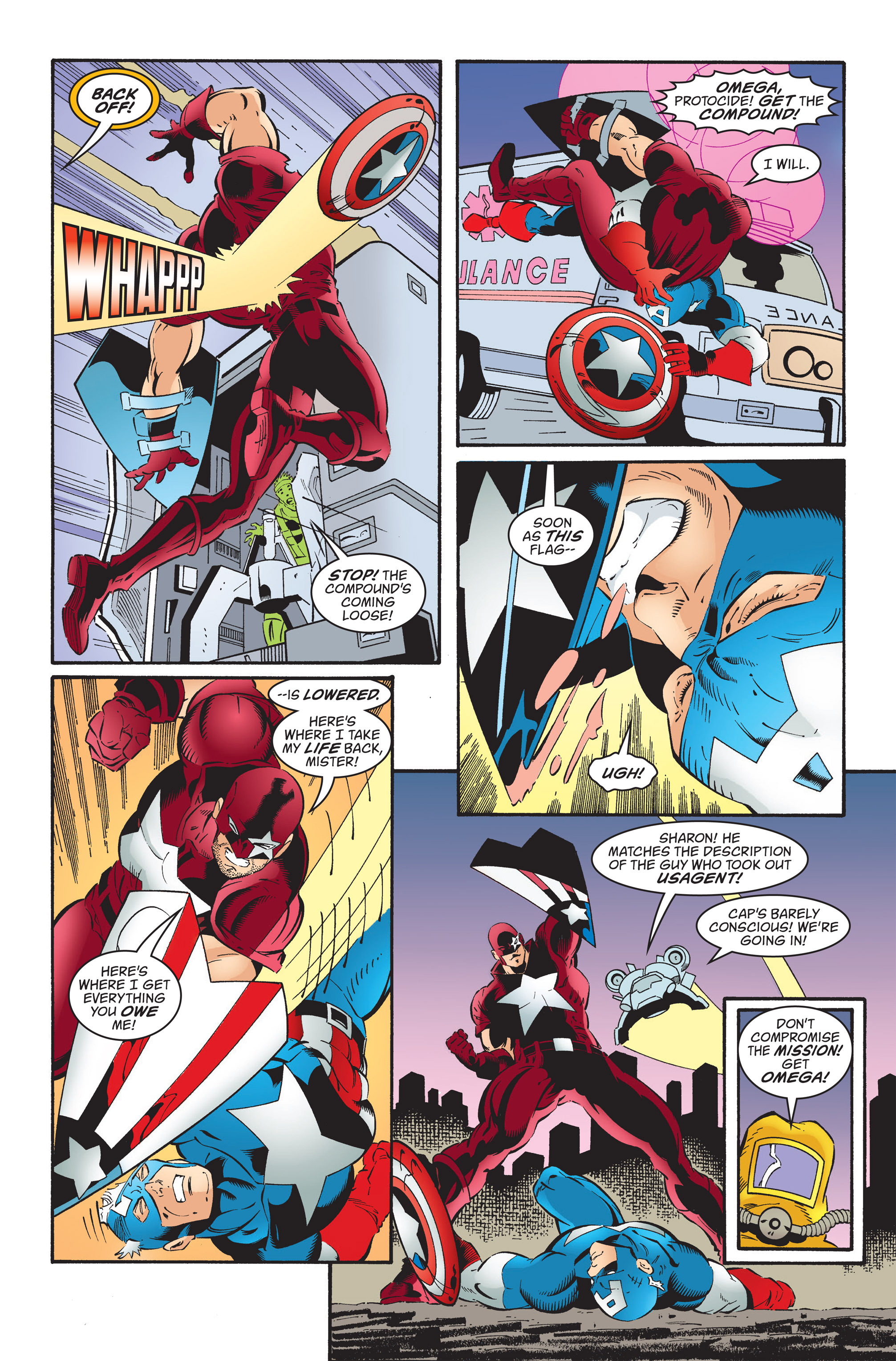 Captain America (1998) Issue #35 #41 - English 19