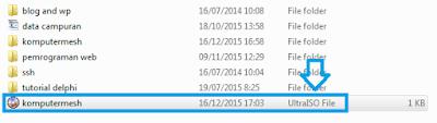Cara Membuat File ISO dengan Winrar