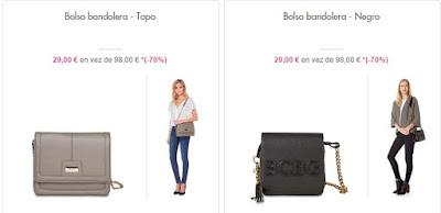 bandoleras menos 30 euros de BCBG