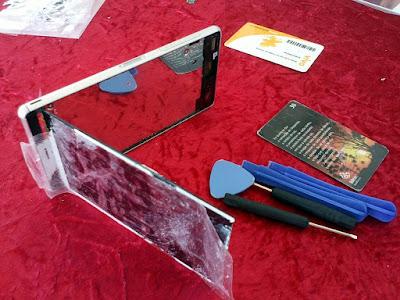Sony Xperia Z3 aberto