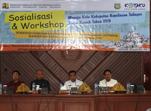 Wakil Bupati, Kep.Selayar ,Buka, Sosialisasi, Dan ,Workshop ,Program, KOTAKU