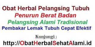 obat alami suplemen pelangsing tubuh herbal PUTRI LANGSING bpom resmi