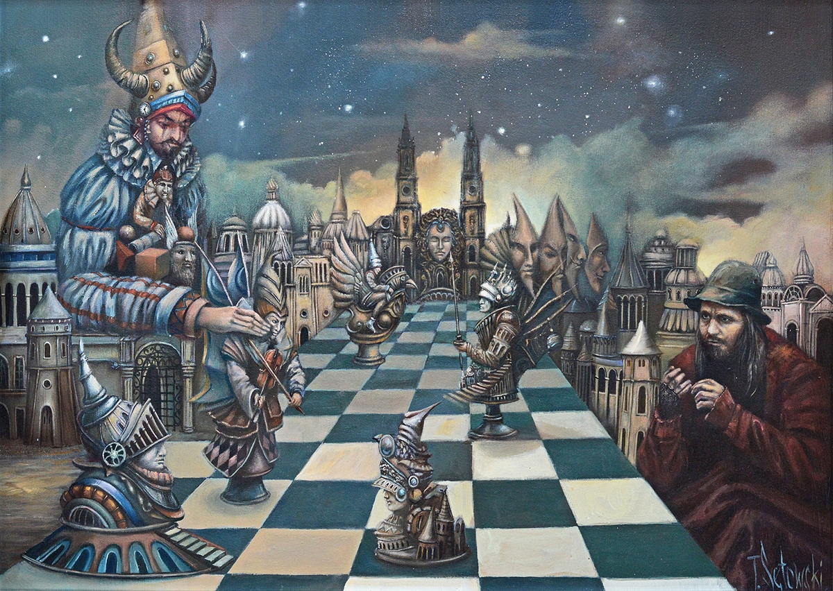 12-A Game-for-Souls-Tomek-Sętowski-Oil-Paintings-Magical-Realism-meets-Surrealism-www-designstack-co