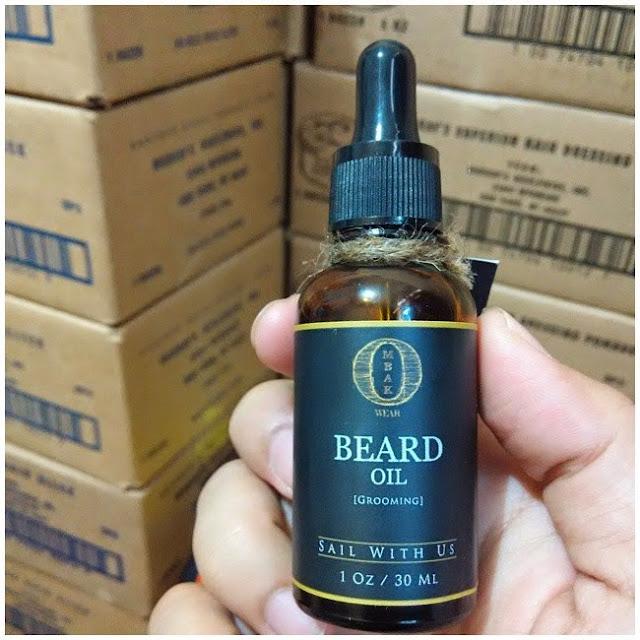 Ombak Beard Oil Minyak Penumbuh Kumis dan Jenggot