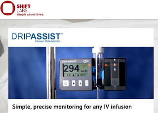 Shift Labs' Device Improve Accuracy And Patient Safety In IV Infusions Around The World