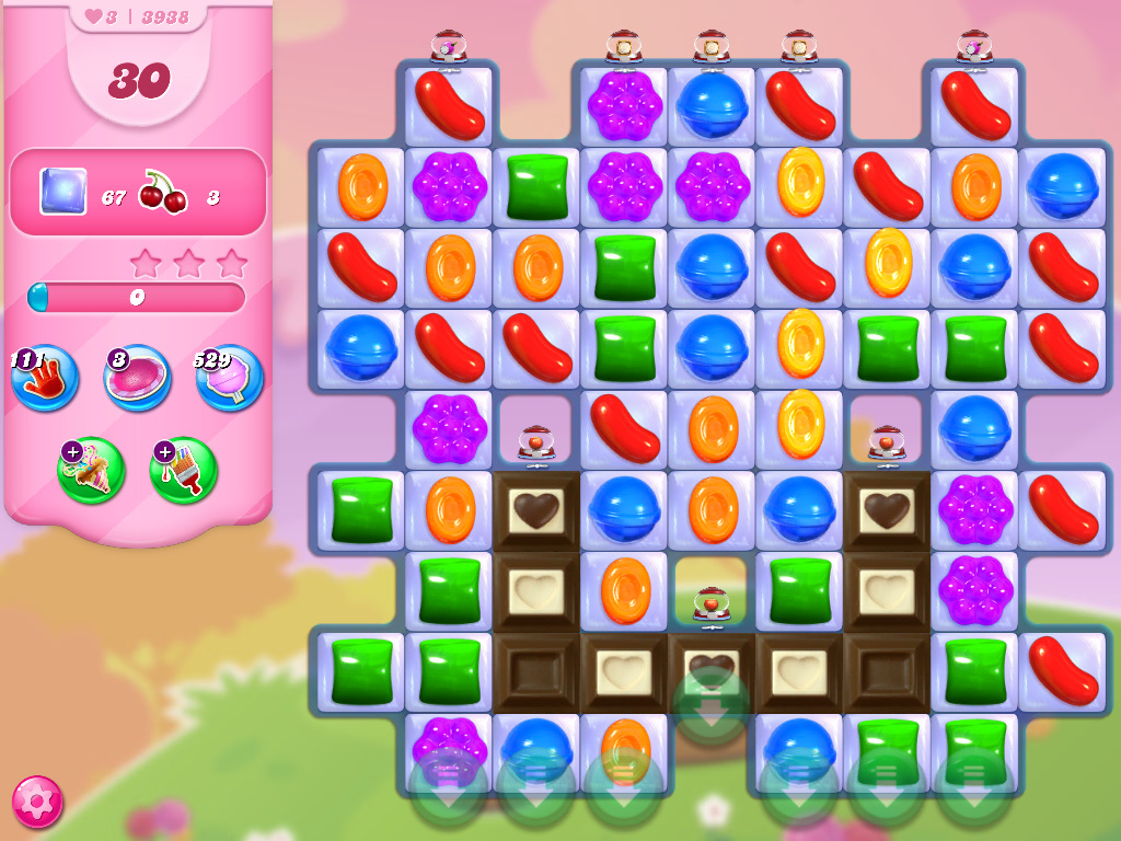 Candy Crush Saga level 3938
