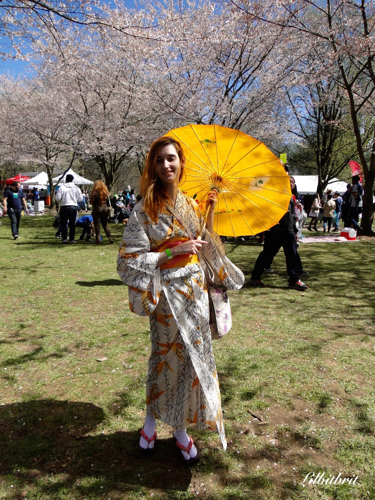A Little Bit of British: Cherry Blossom Festival and ...