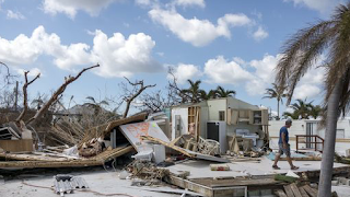 Hurricane Jose ambles off the U.S. coast while Irma-like system eyes Florida