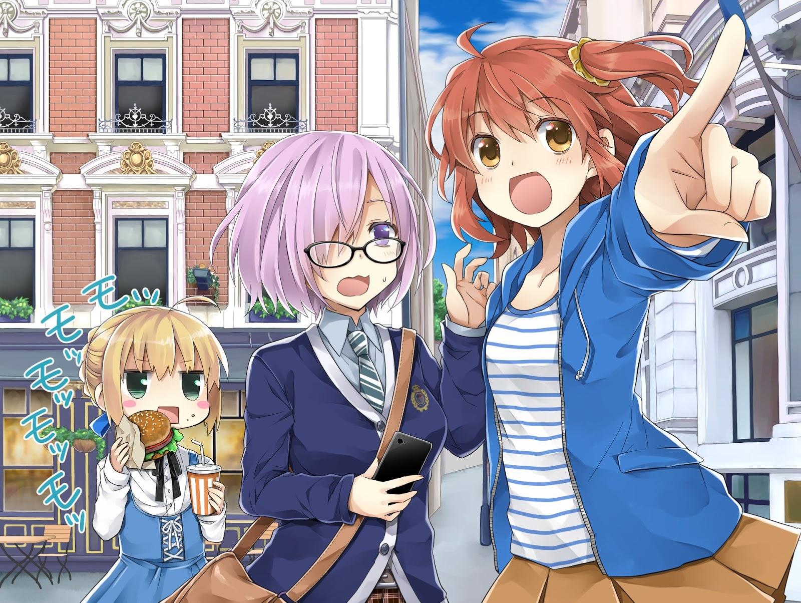 Fate AowVN%2B%252880%2529 - [ Hình Nền ] Anime Fate/GrandOrder tuyệt đẹp Full HD | Wallpaper