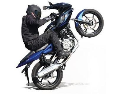 New 2017 Bajaj Pulsar 220 Bike with stunt HD Wallpaper #01