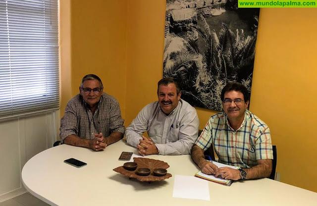 El Cabildo y COAG analizan la situación del sector primario en La Palma