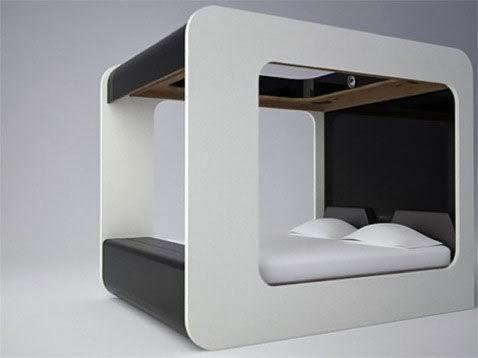 high tech bed designs
