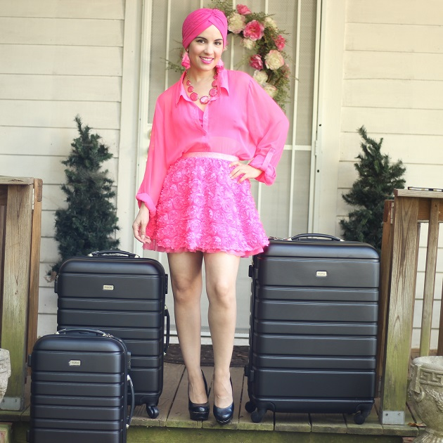 AOOU Spinner Luggage Review