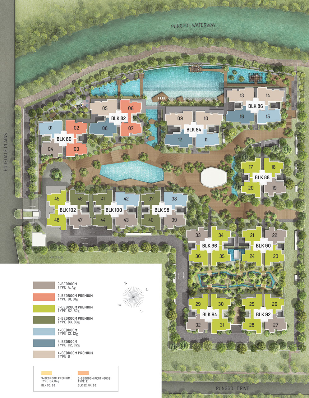 The Terrace Site Plan