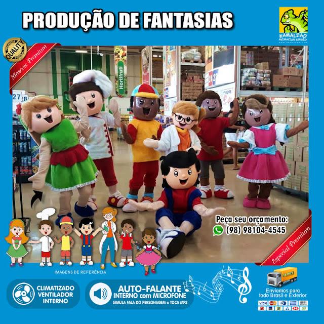 PREÇOS - Fantasias de Crianças (Menino e Menina) para vestir