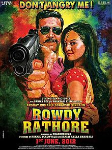 Rowdy Rathore is Akshay Kumar Biggest hit film of his career, Sonakshi Sinha