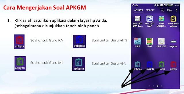 Download Aplikasi APKGM-RA, APKGM-MI, APKGM-MTs & APKGM-MA dan Jadwal Pelaksanaan Serta Cara Mengerjakannya