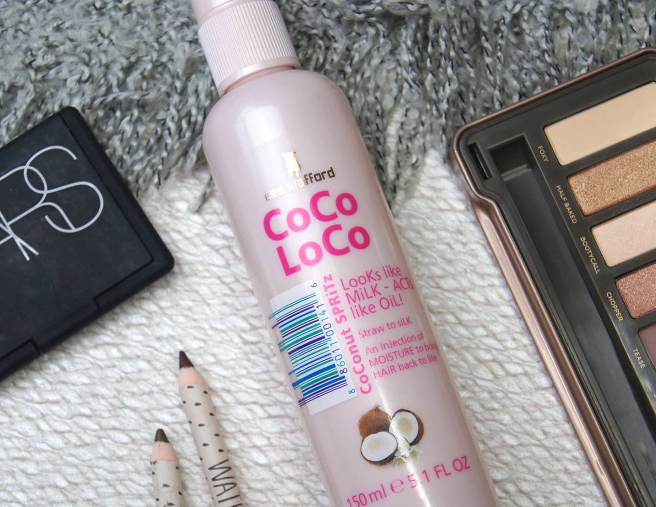 lee stafford coco loco coconut spritz leave in conditioner hair spray review