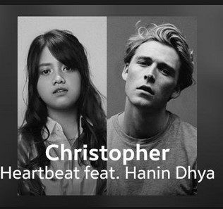 Lirik Lagu Christopher Ft hann diya -  Heartbeat