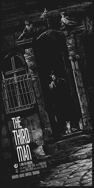 The Third Man Movie Poster Screen Print by AJ Frena x Mad Duck Posters