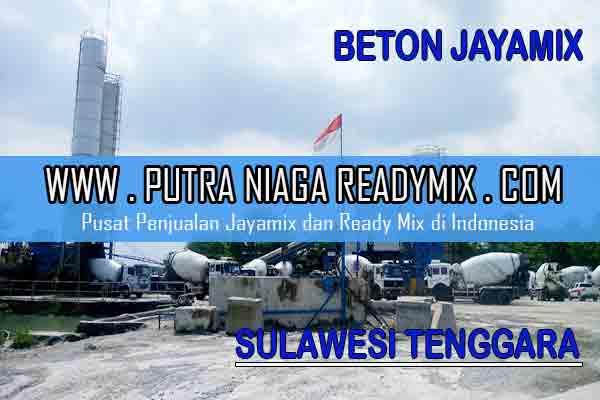 Harga Beton Jayamix Sulawesi Tenggara