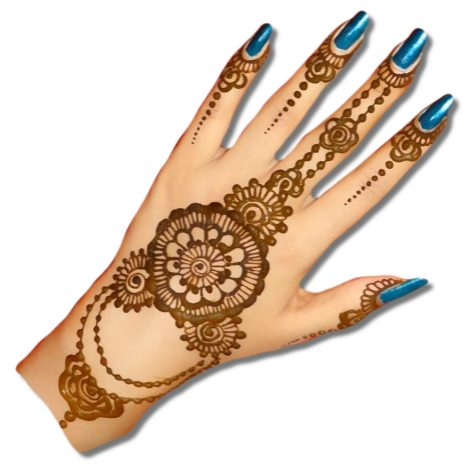 Jewellery Mehndi Designs