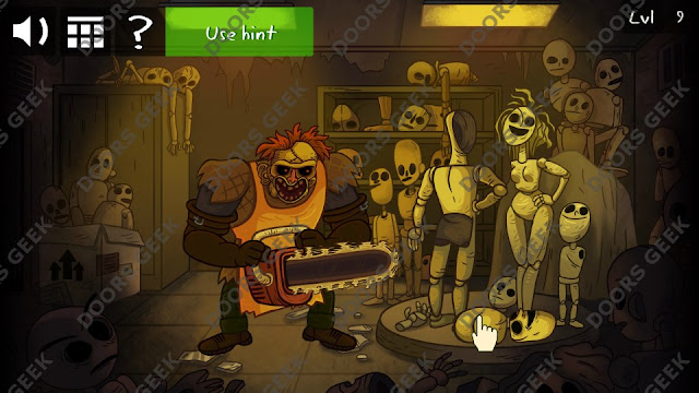 Troll Face Quest Horror Level 9 Walkthrough, Cheats, Solutions