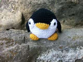 Toy Penguin in crochet