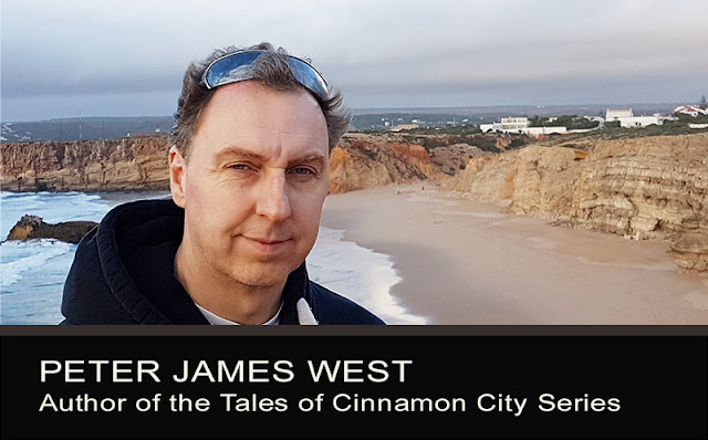 Peter James West, author of the Tales of Cinnamon City series