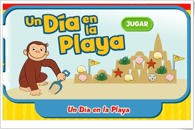 "Curious George: ""Un día en la playa"""