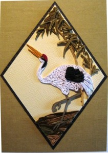 Duck model quilling wall art frames home decor -quillingpaperdesings