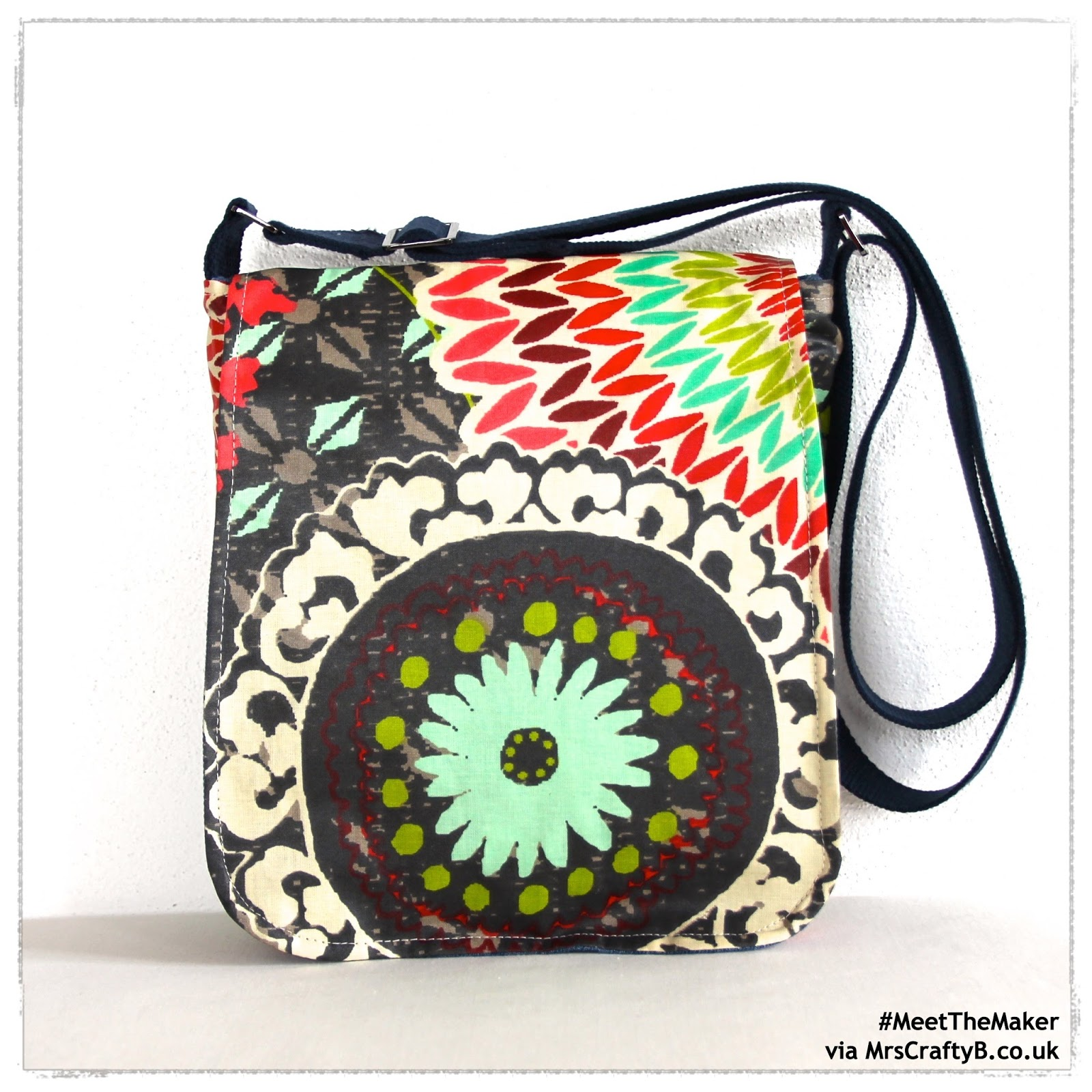 Today We Are Chatting With Sallyann Who Creates Handmade Bags Just Like This One