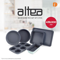 Dusdusan Altea Bakeware Mix Set (Set of 6) ANDHIMIND